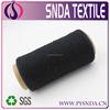 Ne6s open end black dyed cotton yarn for knitting carpet /blanket