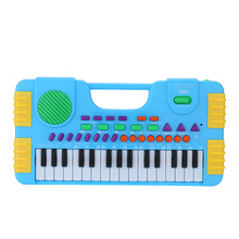 31 Keys Multifunction Mini Electronic Keyboard Music Toy Educational Cartoon Electone Musical Toy Gift for Kids Beginners