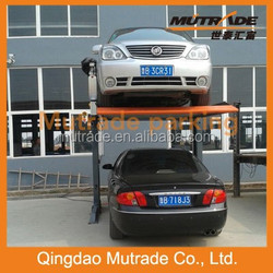 family use double post double level automatic car parking equipment