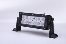Double row 7.5inch 36w cree led work light bar led emergency vehicle lights