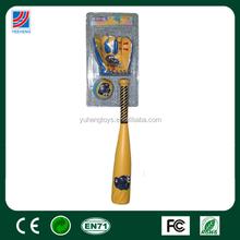 Mini toy kids plastic baseball bat and ball