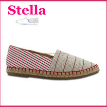 pvc sole material hot chocolate design ladies wholesale china flat shoe