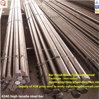 hot rolled&forged turned surface round bar 34crnimo6 aisi steel 4340 tool steel din 1.6582 supplier made in CHINA