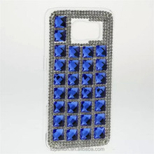 100% handmade diamonds case for galaxy s6 edge, for samsung s6 cover with diamonds