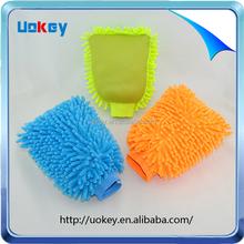 Popular single side microfibre noodle hand mitt duster