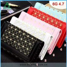 Women Sholder Bag For iPhone 6 Mobile Phone Luxury PU Wallet Cover Leather Bag Cases