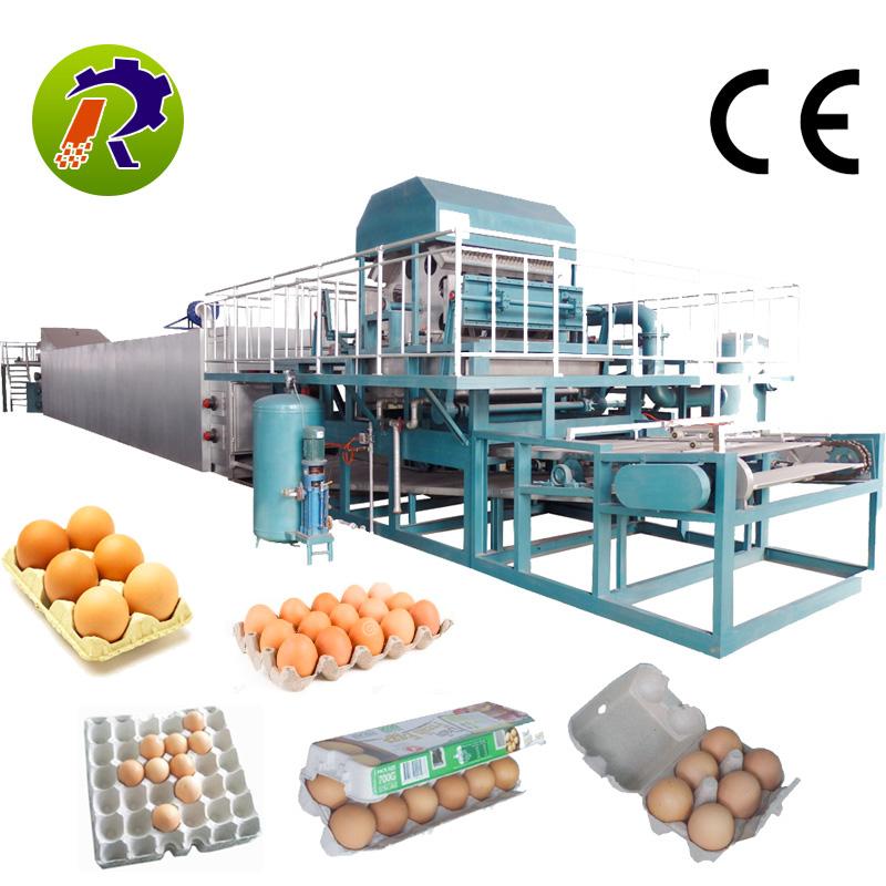 Новое условие 4 стороны яйцо куриное яйцо лоток машина цена