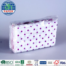 Custom printed tissue pack, custom logo tissue paper