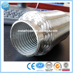 exhaust pipe with interlock/stainless steel exhaust pipes for car/interlocked exhaust pipe