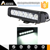 Good News! China factory big promotion 60w single row led light bar for off road 10.9 inch 6000-6500k super bright CE and ROH