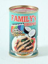 Family's Brand Sardines in Coconut Milk, Zambo Express