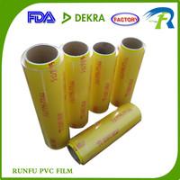 pvc cling food wrap stretch film, pvc cling film