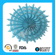 2015 Hot Wholesale Colorful Paper Fans Bulk In Other Gifts& Crafts
