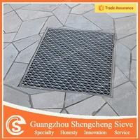 Steel floor drain grating trench drain grating cover