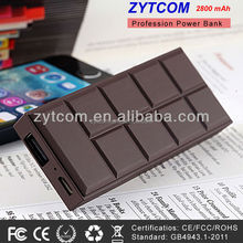 new products 2600mAh USB External Emergency portable power bank for digital products