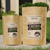 250g Tea packaging stand up kraft paper zipper pouch