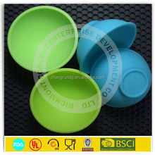 Unbreakable Silicone Mixing Bowl,Microwave Safe Lunch Box With Lid,Baby Bowls