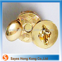 Bag accessaries apparel buttons with brass/nickel/gold
