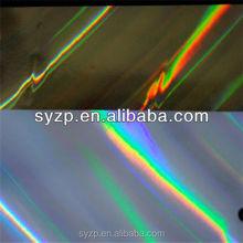 gold&silver transfered laser metallic foil paper