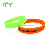 cheap silicone wristbands,personalized basketball colorful silicone bracelet bangle