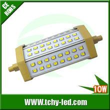 800-900 lumen 50000 horas duración 100w lámpara halógena reemplazo 10w R7S