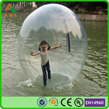 transparent dia 2m water walking ball/ inflatable water ball/ water polo ball
