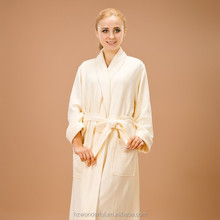 beige modal shawl collar long nightgown home clothing for couples with plus size nightgown