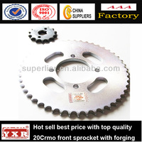 China manufacturer motorcycle spare parts motorcycle sprocket wheel