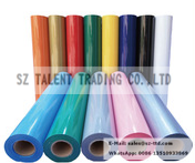 pu film for cutting plotter / PU heat transfer vinyl