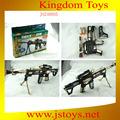 de plástico sniper rifle pistola de juguete