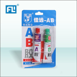 FL China best quality and price acrylic AB glue in wood,metal and all universal use