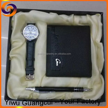 New design wallet watch pen set