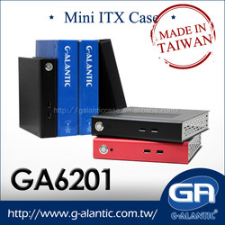 GA6201 Fanless Mini ITX Case for HTPC desktop computer i7