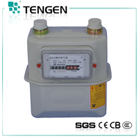 TG-G flow rate 1.6/2.5/4.0 Iron Case accurate measuring read natural gas meter