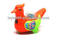 Lovely Pull Line Red Duck with Light STP-267015