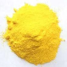 yellow sulphur granules