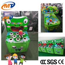 2015 hot sale new model hot arcade mechine Frog Hitting for children with LED light