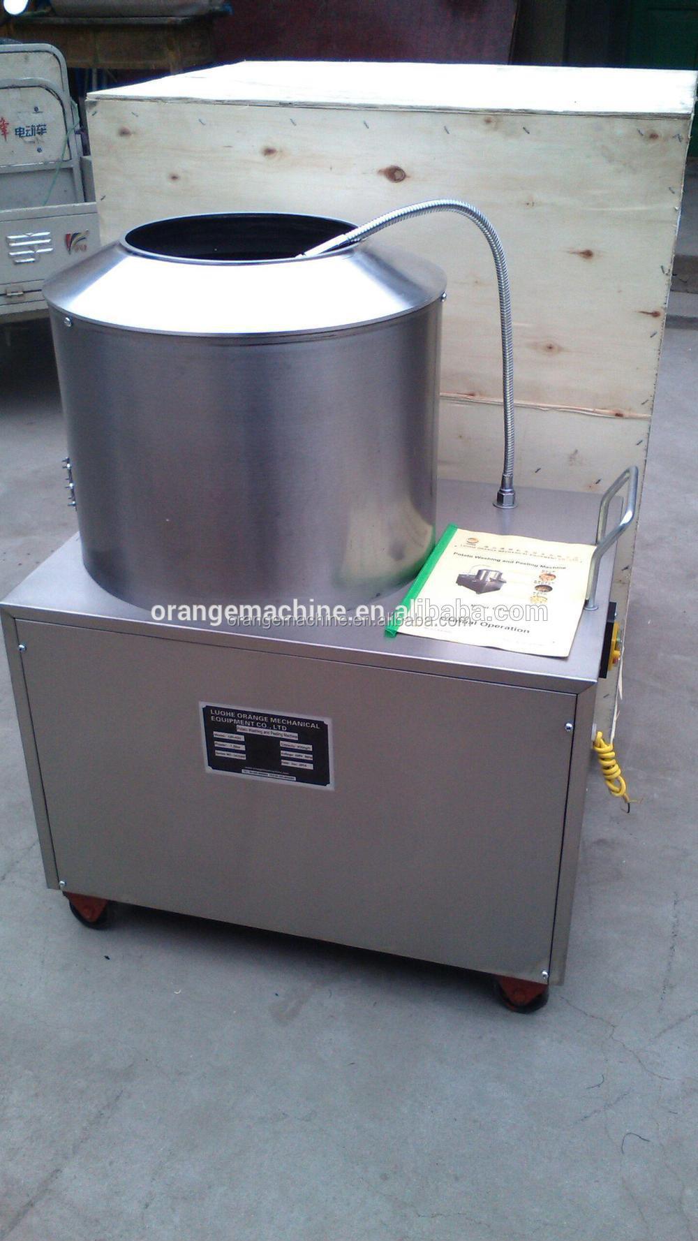 automatic potato peeling machine