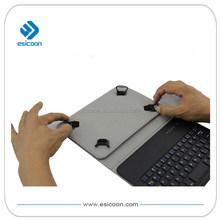 Caja de la tableta teclado bluetooth con extraíble clip