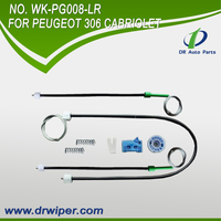 buy wholesale from china PEUGEOT 306 CABRIOLET Front Left Right window regulator repair kit