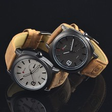 High Quality Leather Western Men Watch/ Wrist Watches For Men