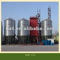 usado silo de grãos usados na fazenda