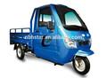 Medio cerrado eléctrico triciclo de carga venta