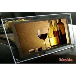High Quality Led Light Christmas Picture Frame Manufacture