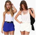 saia curta para as mulheres saia azul