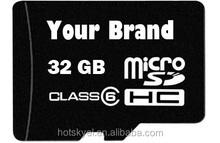 Factory OEM microsd card 1GB-128GB wholesale bulk MicroSD Card micro Logo Print