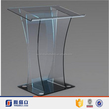 customized wholesale acrylic podium pulpit lectern / clear acrylic church pulpit
