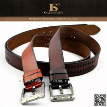 Latest Original Design Cowhide China Factory Genuine Leather Belt