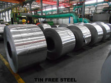 0.15-0.36mm,matte finish TFS Tin Free Steel with DOS oil