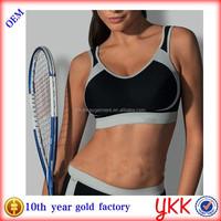 Nylon/Spandex women yoga and fitness clothing women fashion gym wear set